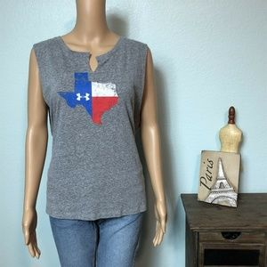 Under Armour Undeniable Texas State Tank Top Shirt